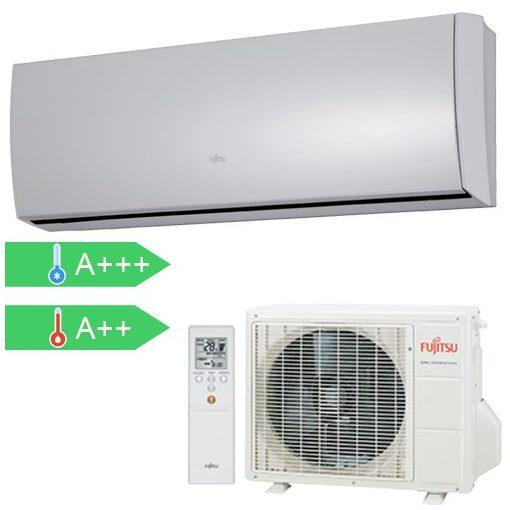 Fujitsu ASYG09LTCA/AOYG09LTC Slim 2,5 kW-os split klíma szett (ezüst)