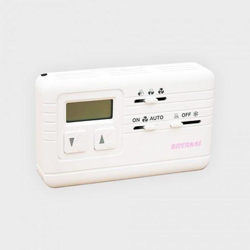 Gree VRK-FP-CRF07 digitális fali termosztát légcsatornázható Fan-Coil-hoz