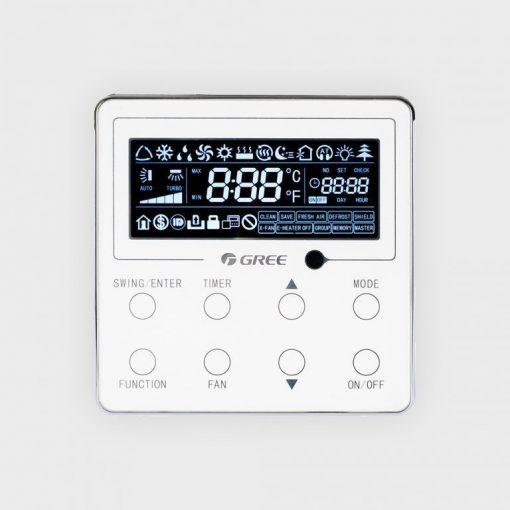 Gree XE70-17/E(M) digitális fali vezérlő Fan-Coil-hoz