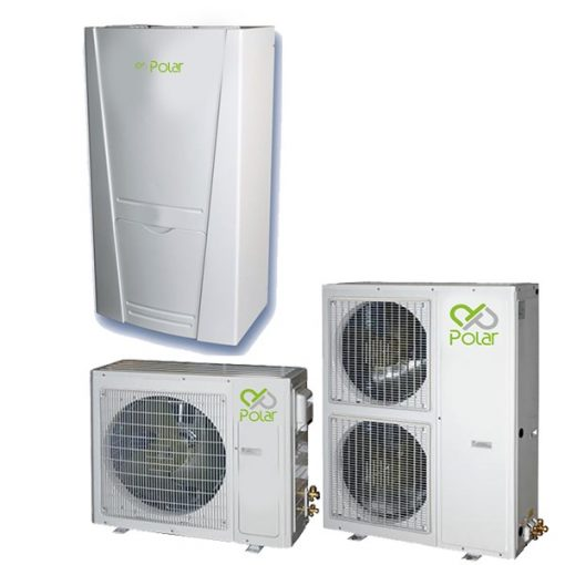 Polar DPIEH0040SD0A / DPO1H0040SD0A 4,5 kW-os osztott rendszerű levegő-víz hőszivattyú
