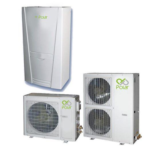 Polar DPIEH0100SD0A / DPO1H100SD0A 10 kW-os osztott rendszerű levegő-víz hőszivattyú